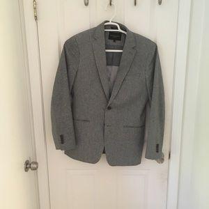 Grey Tailored Fit Banana Republic Sport Coat